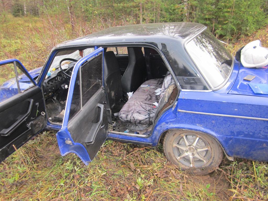 В Усть-Вымском районе только что получивший права водитель