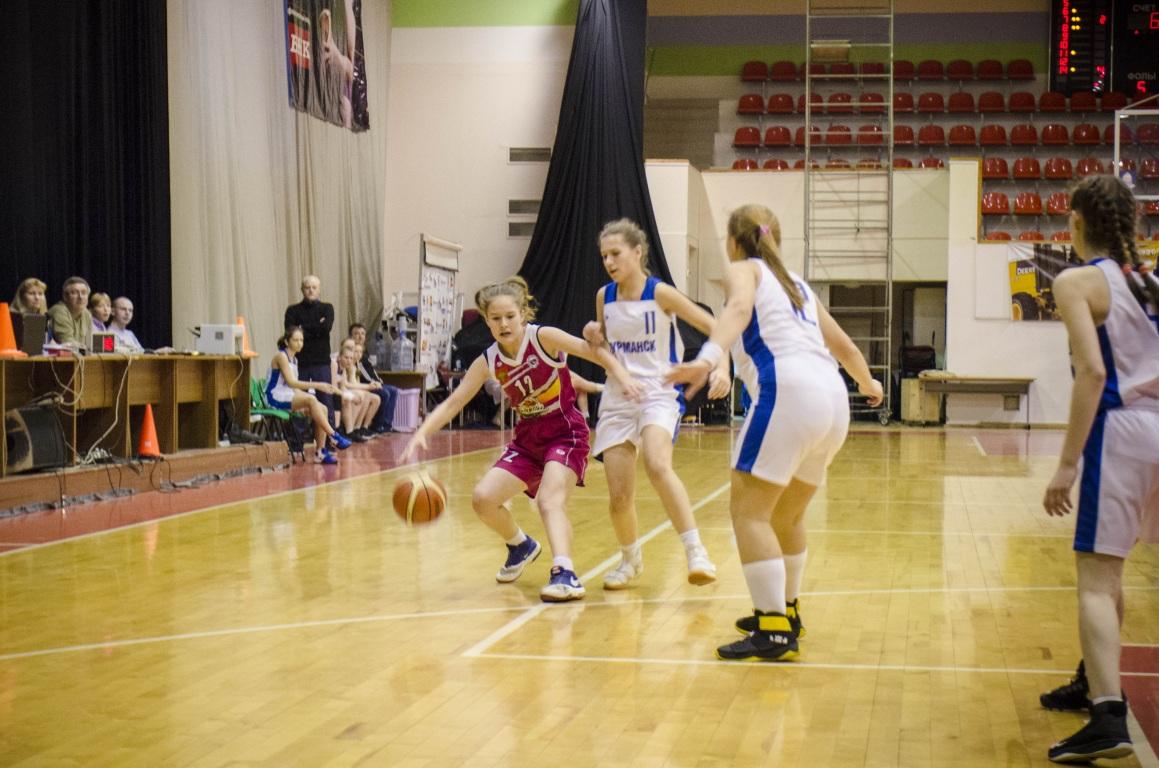 Юные баскетболистки Коми обыграли сверстниц из Мурманской области