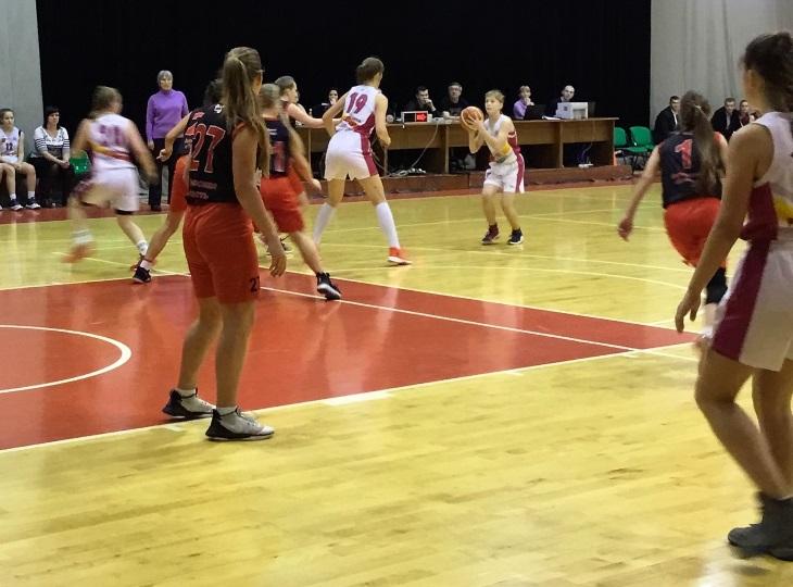 14-летние баскетболистки Коми досрочно вышли в полуфинал межрегиональных соревнований