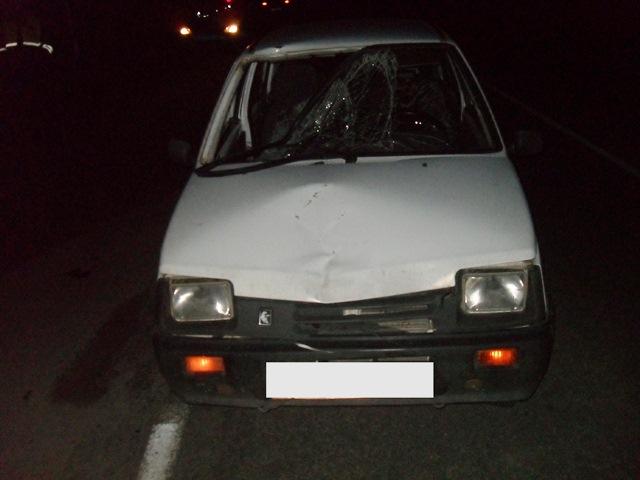 В Усть-Вымском районе в ДТП серьезно пострадал пешеход