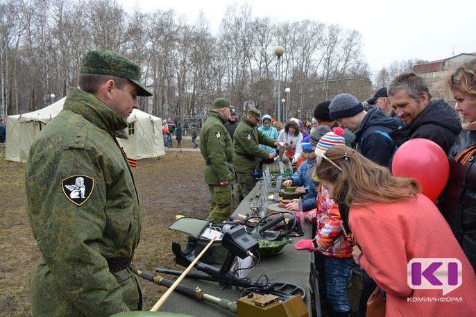 В Коми 73 семьи получают меры соцподдержки для жен и детей военнослужащих-срочников