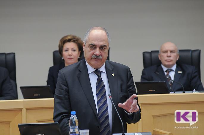 Постпред Коми при президенте России Григорий Саришвили отчитался перед депутатами о проделанной работе