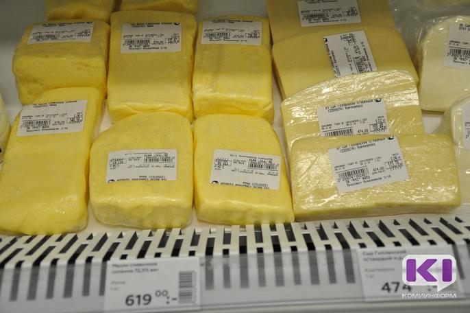 От 20% до 50% йогуртов, сыров и масла в Коми - ненастоящие