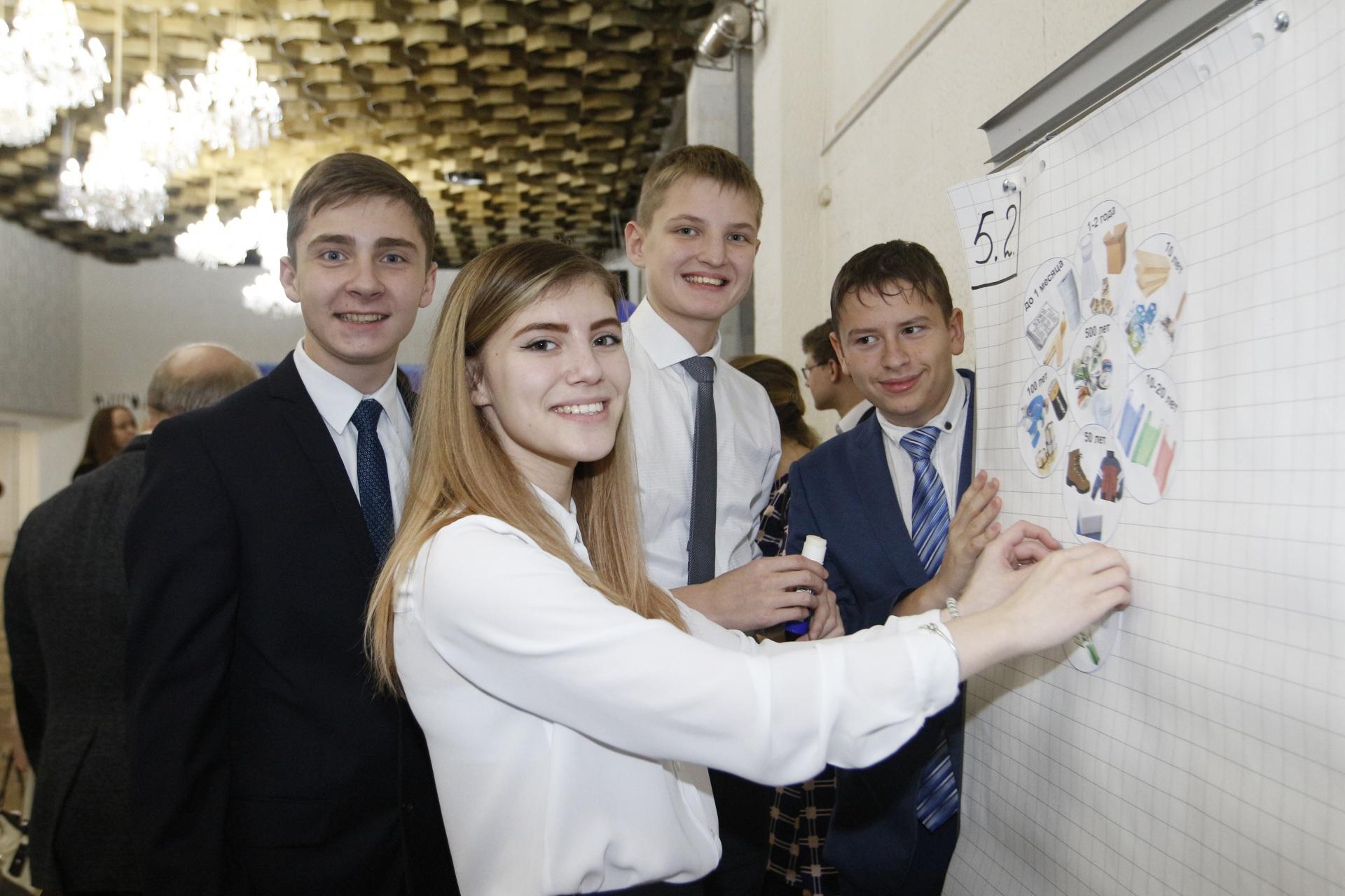 Парламентский урок с экологическим уклоном провели для старшеклассников Усинска