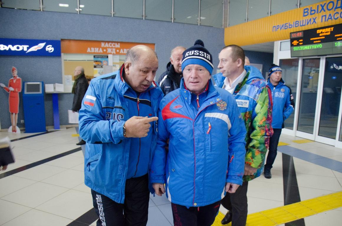 В Сыктывкар прибыл главный тренер женской сборной России по боксу Иван Шидловский