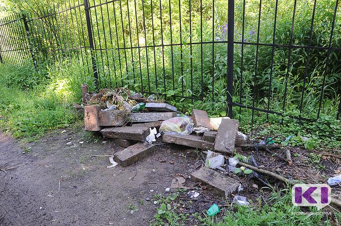 В Сыктывкаре от древесного мусора очистят шесть кладбищ