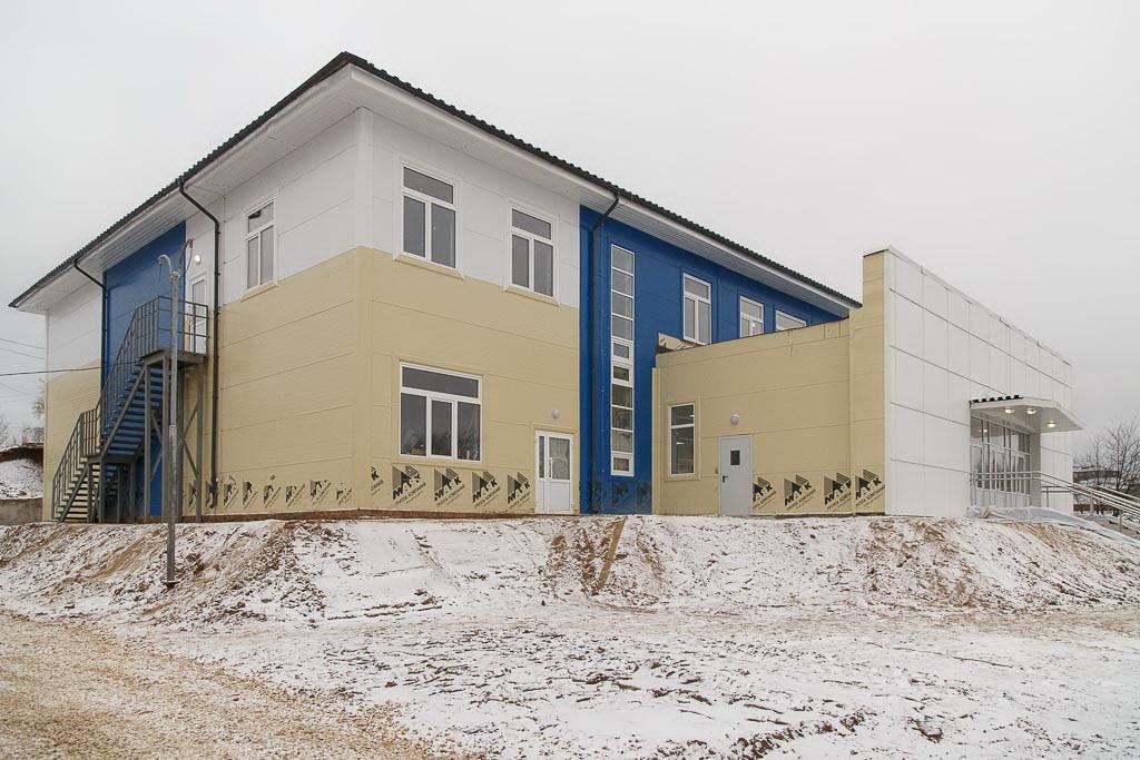 Новый год жители села Кослан встретят в новом социально-культурном центре