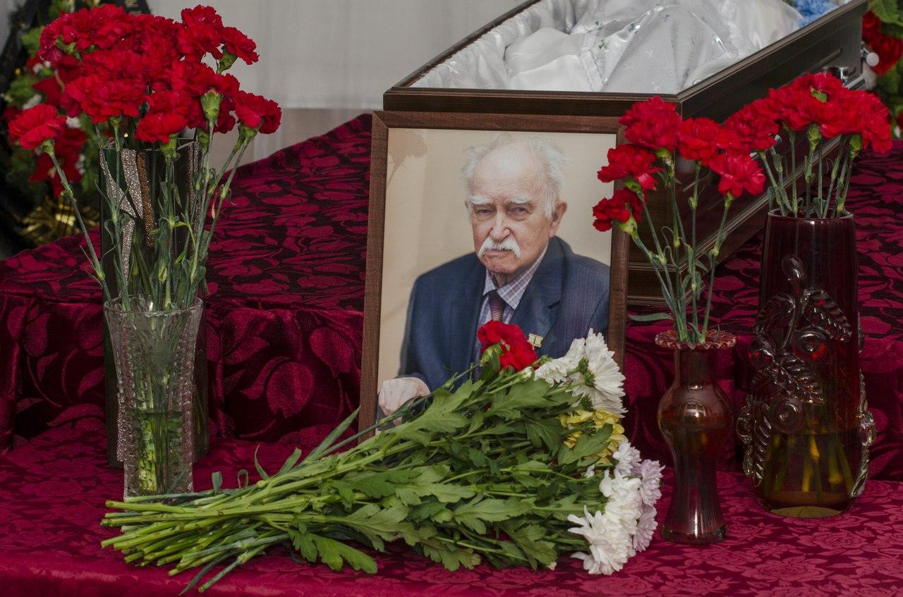 В Ухте простились с историком Ленфридом Борозинцом