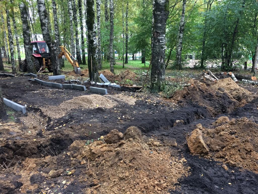 Работы по реконструкции Мичуринского парка в Сыктывкаре вышли на финишную прямую