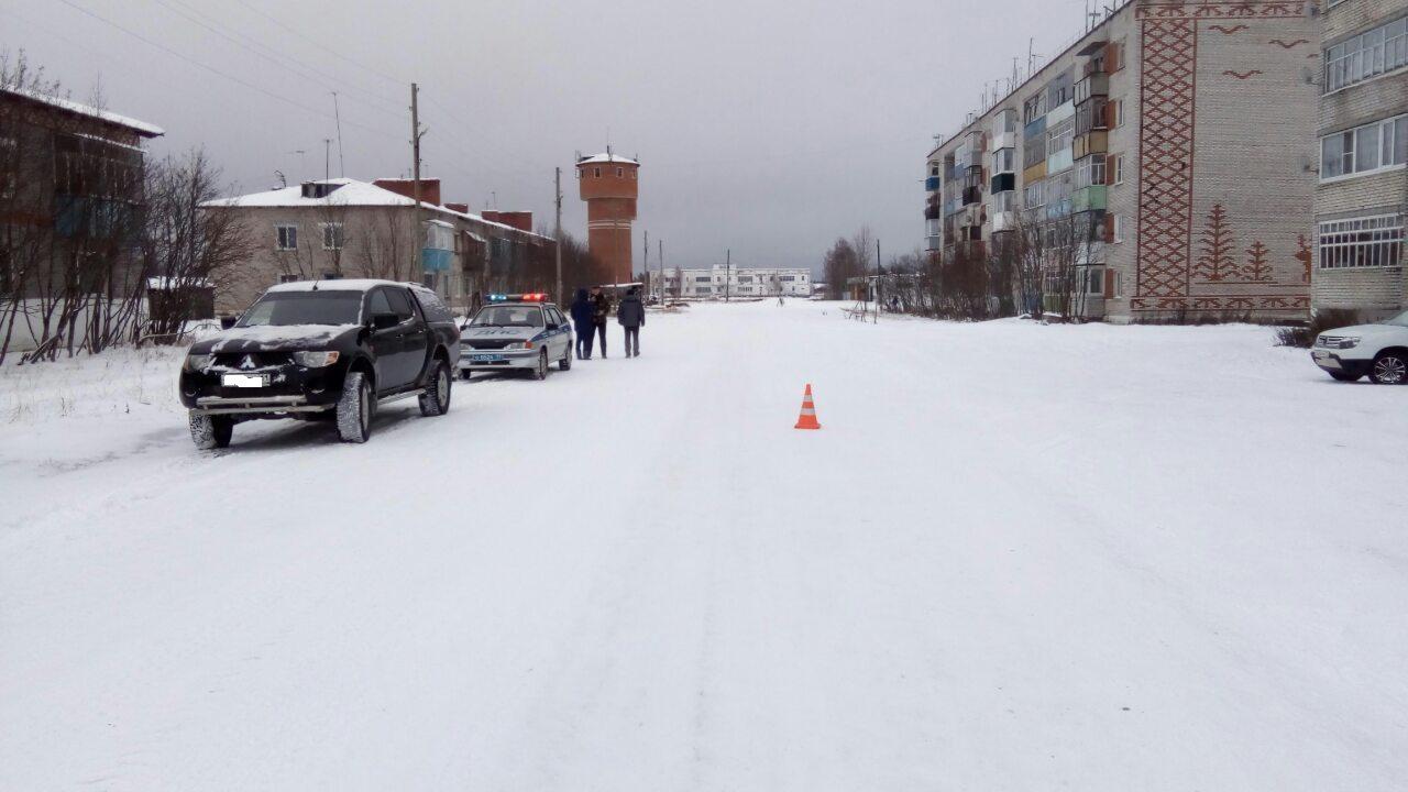 В Печорском районе женщина-водитель сбила на Mitsubishi пешехода
