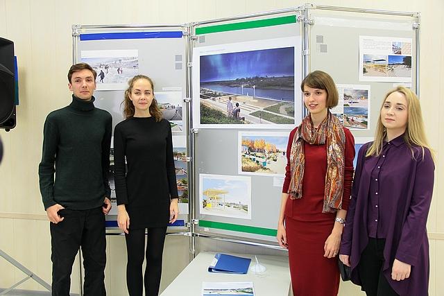 В Сыктывкаре открылась выставка, посвященная будущей набережной Сыктывкара