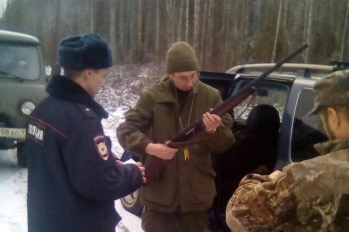 За выходные в Сыктывдинском районе поймали пятерых нарушителей правил охоты