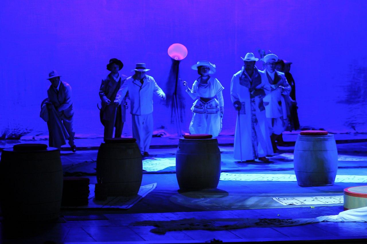 Перед липчанами соспектаклем «Чайка» выступят актеры изРеспублики Коми