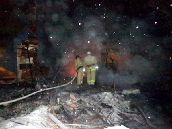 На пожаре в Усть-Цильме погиб мужчина
