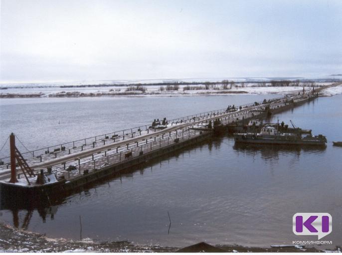 Ижемский район получит 30 миллионов рублей на наплавной мост
