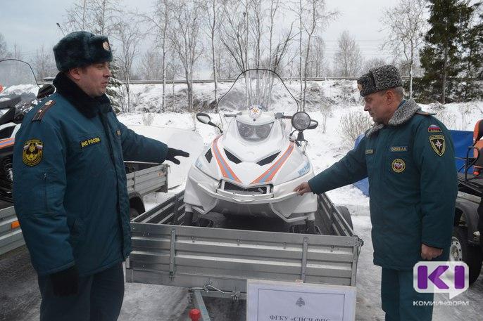В Сыктывкаре показали новую спасательную технику