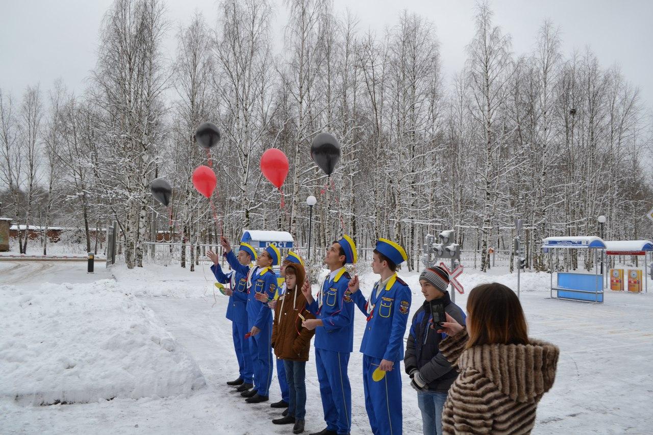 Память погибших в ДТП почтили в сыктывкарской школе-интернате