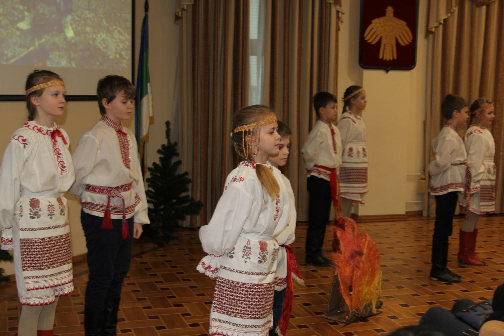Московские школьники приобщились к коми культуре