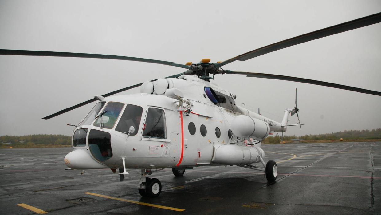 В Ухту прибыл первый в истории Коми специализированный медицинский вертолет
