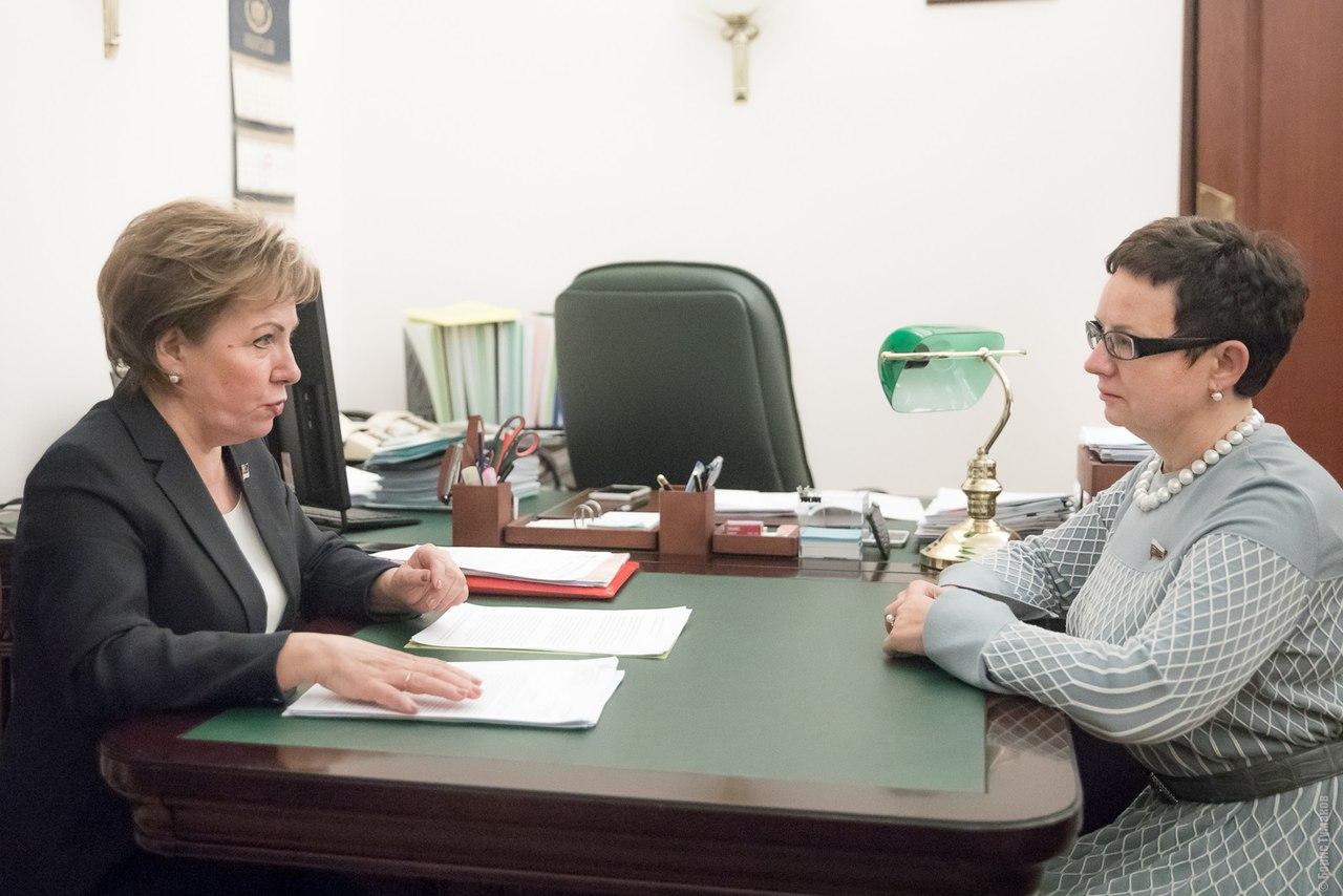 Ольга Савастьянова готова помочь парламенту Коми в продвижении его законодательных инициатив в Госдуме