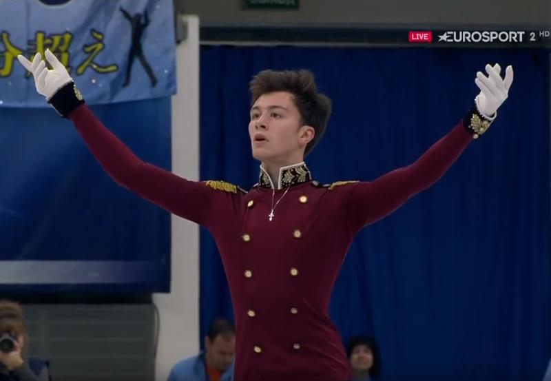 Ухтинский фигурист Дмитрий Алиев победил на турнире серии