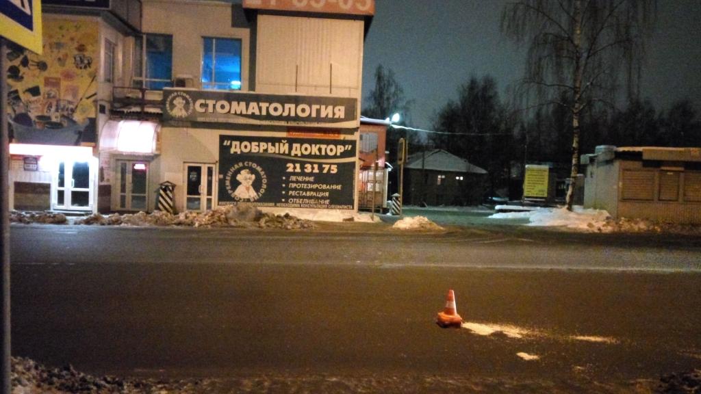 На дорогах Усть-Вымского района и Сыктывкара пострадали пешеходы