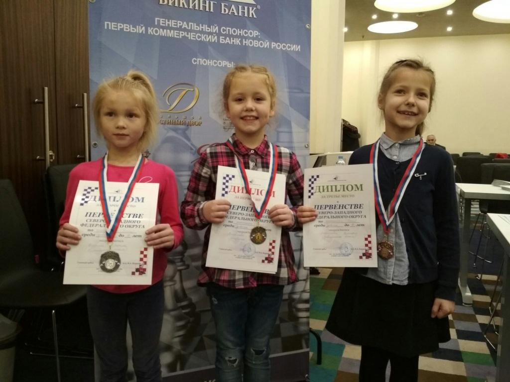 Очередные награды завоевали шахматисты Коми на Первенстве СЗФО
