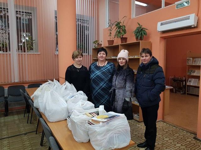 Центральной библиотеке Сыктывкара передали 107 кг книг