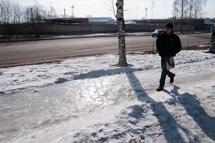 В Сыктывкаре за неделю от уличных травм пострадали 267 человек