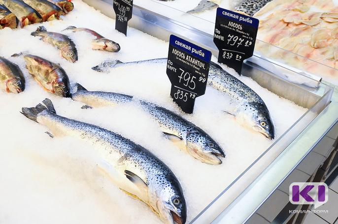 Роспотребнадзор Коми зафиксировал значительное превышение глазури в замороженных креветках и рыбе