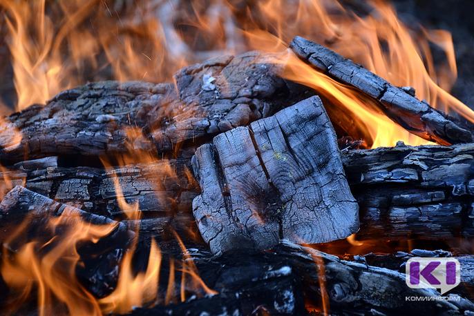 За минувшие сутки в Коми произошло два пожара