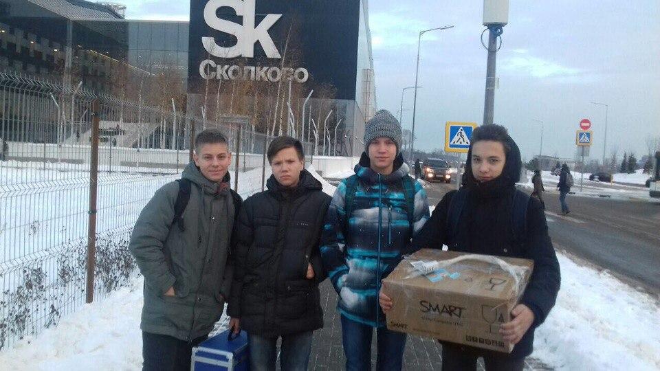 Сыктывкарские школьники показали свое изобретение на