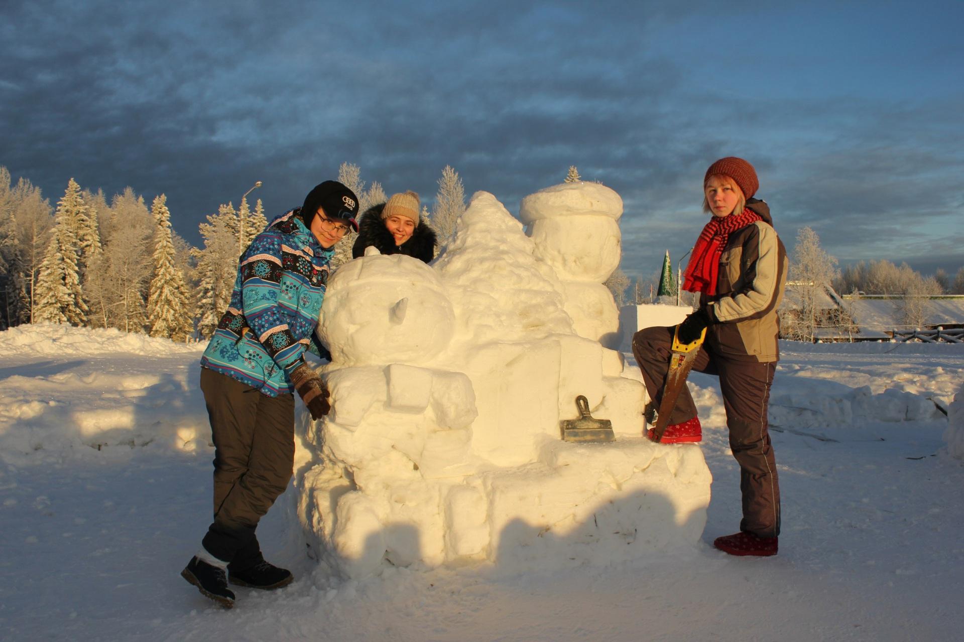 Новогоднее оформление Финно-угорского этнопарка доверили студентам