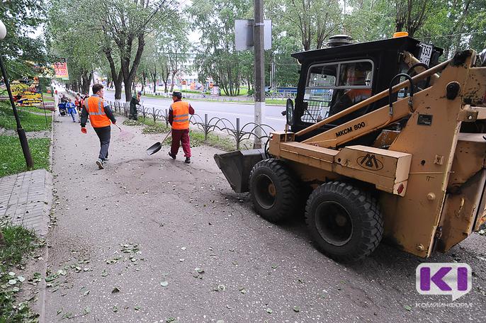 Уборка Усинска после праздников обойдется властям в 980 тыс. рублей