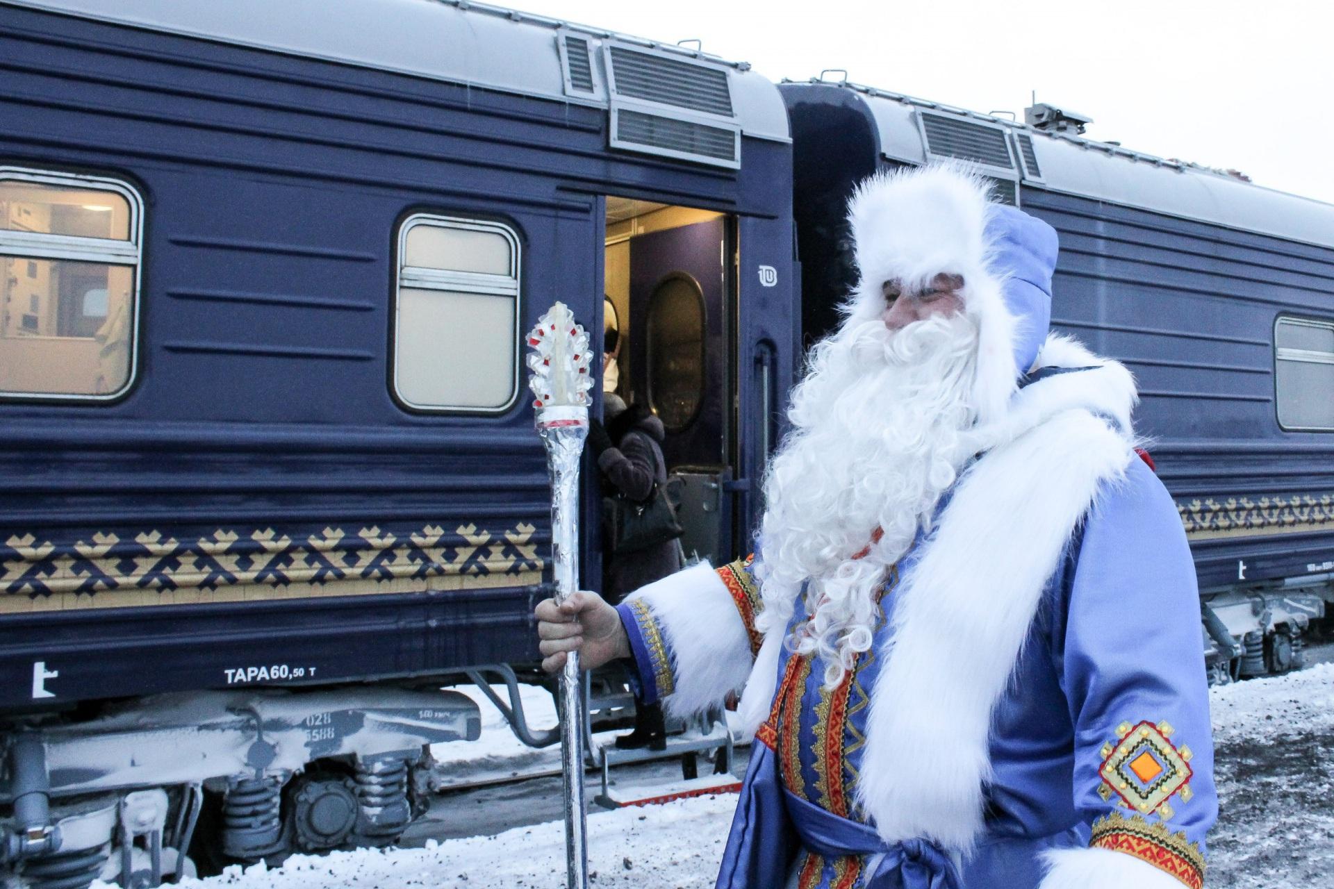 Сосногорск встречает праздничную акцию