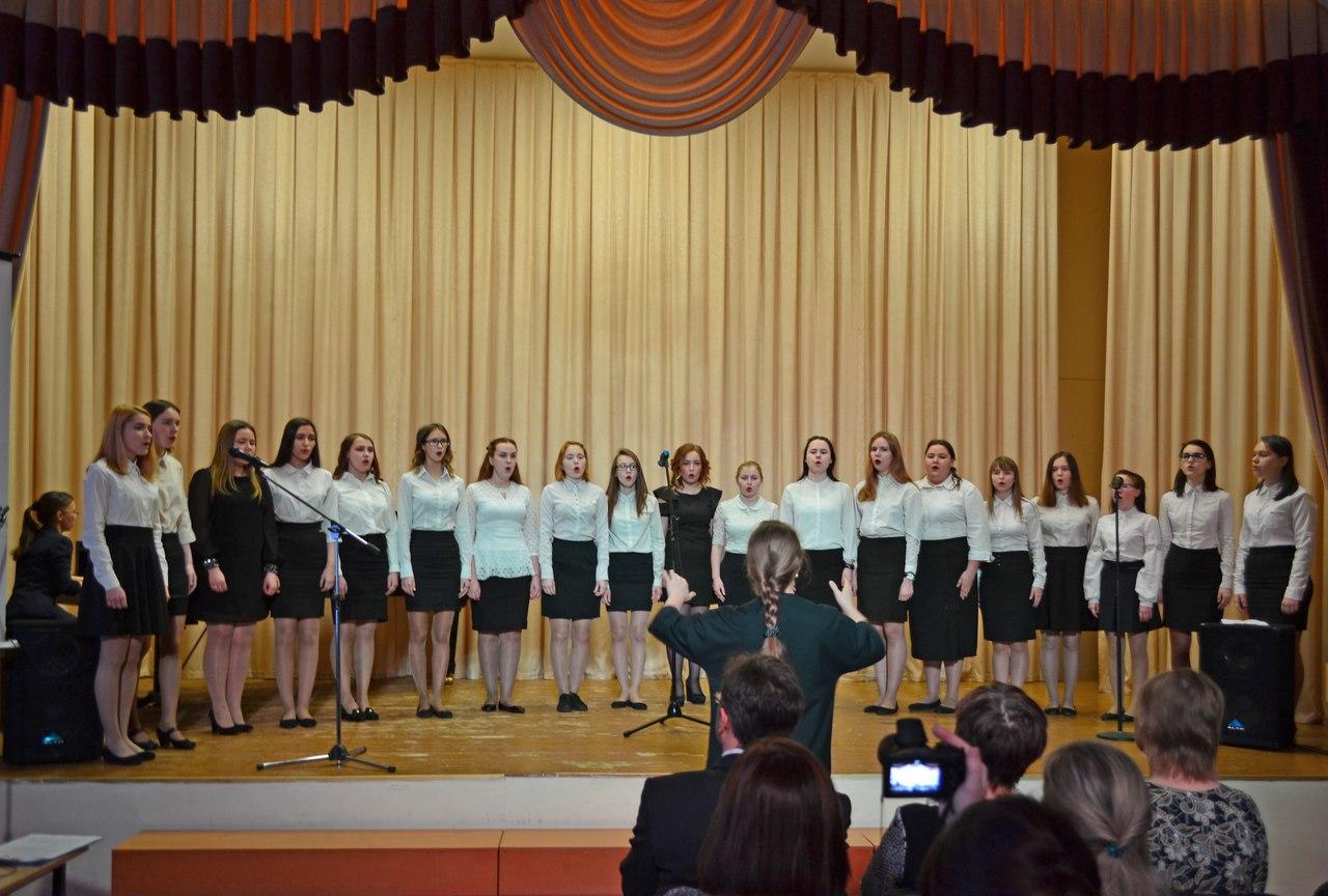 Более 160 участников собрал Сыктывкарский педколледж на конкурсе патриотической песни