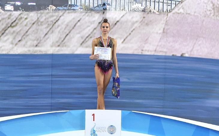 Гимнастка из Коми Анастасия Прокушева победила на всероссийском турнире в Казани
