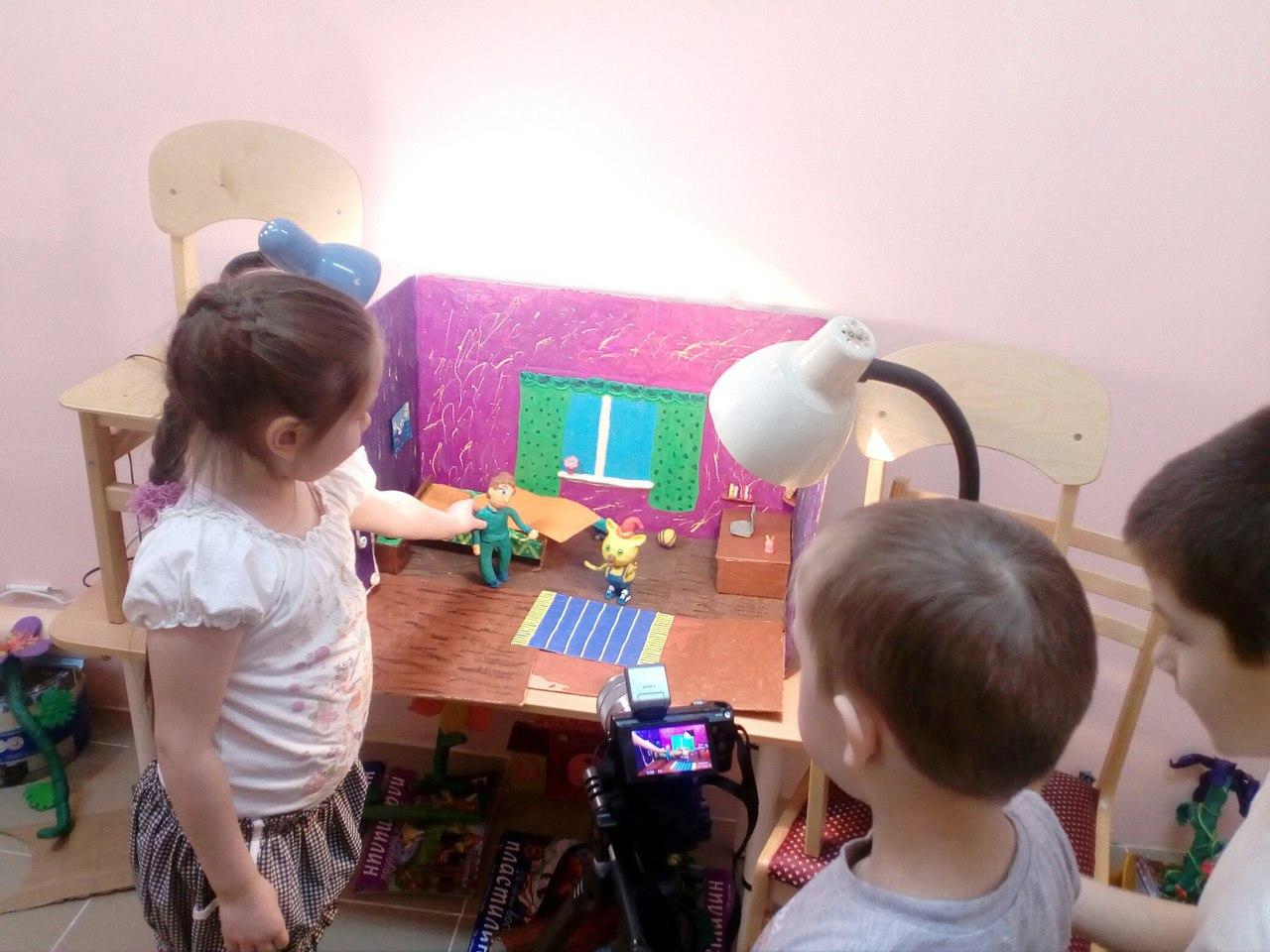 В детском саду Богородска приступили к съемке мультфильма по книге Татьяны Кирпиченко
