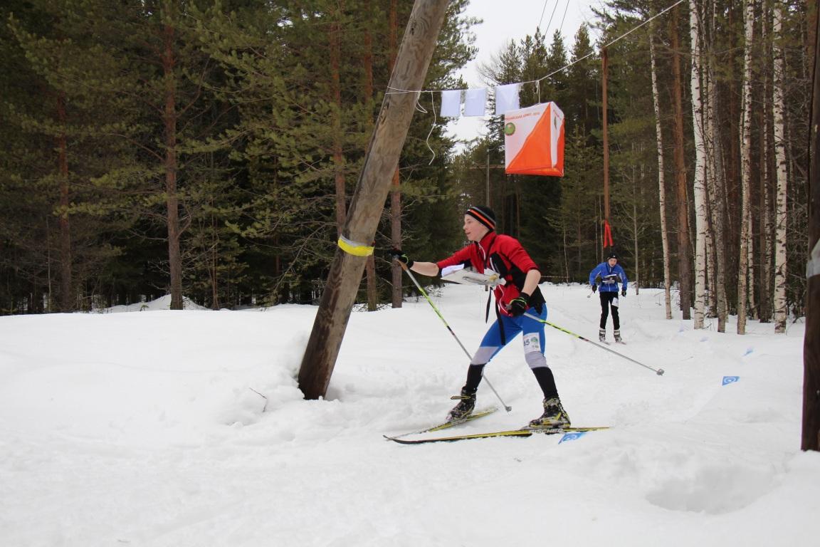 Александр Бондаренко из Коми одержал победу на Всероссийских соревнованиях по спортивному ориентированию на лыжах