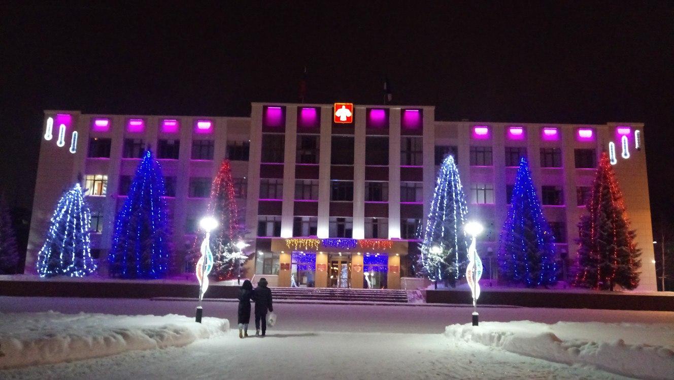 В Усинске идет активная подготовка к Новому году