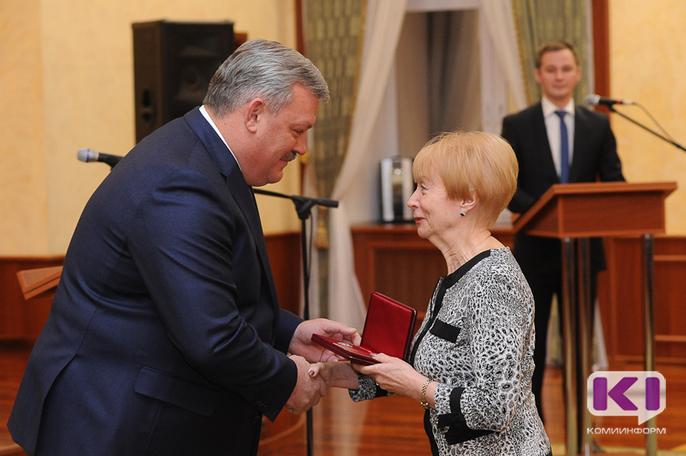 Глава Коми вручил выдающимся жителям республики государственные награды