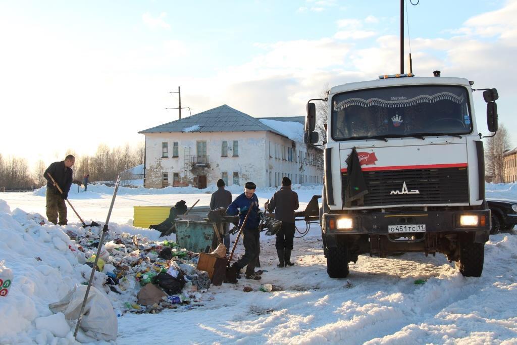 В Печоре суд предупредил уборщиков мусора