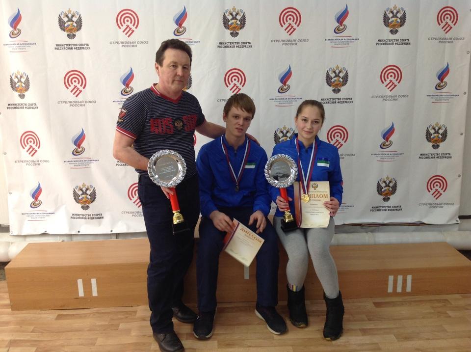 Юные стрелки из Коми победили на первенстве России в Белгороде