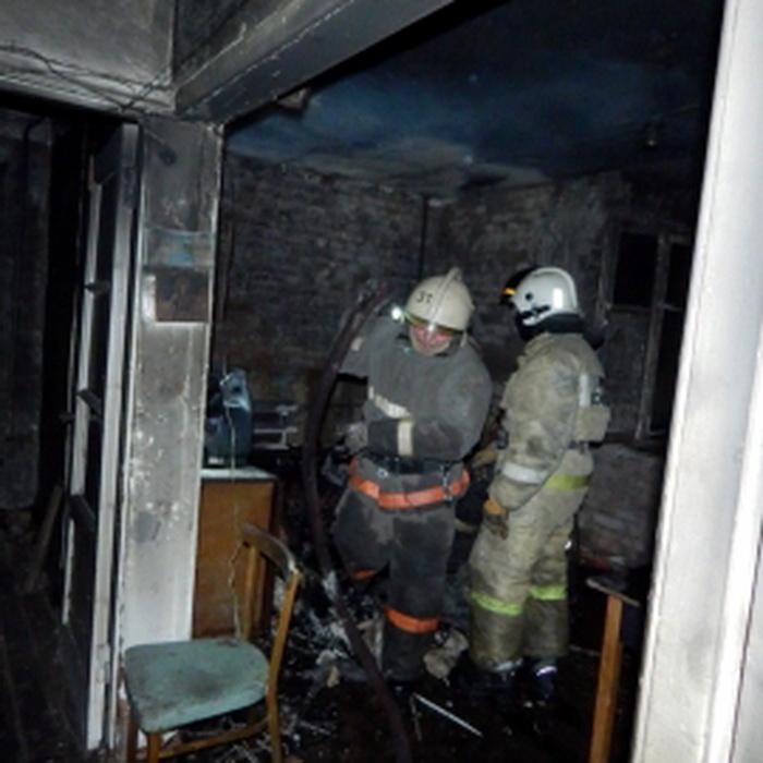 На пожаре в Воркуте погибла женщина