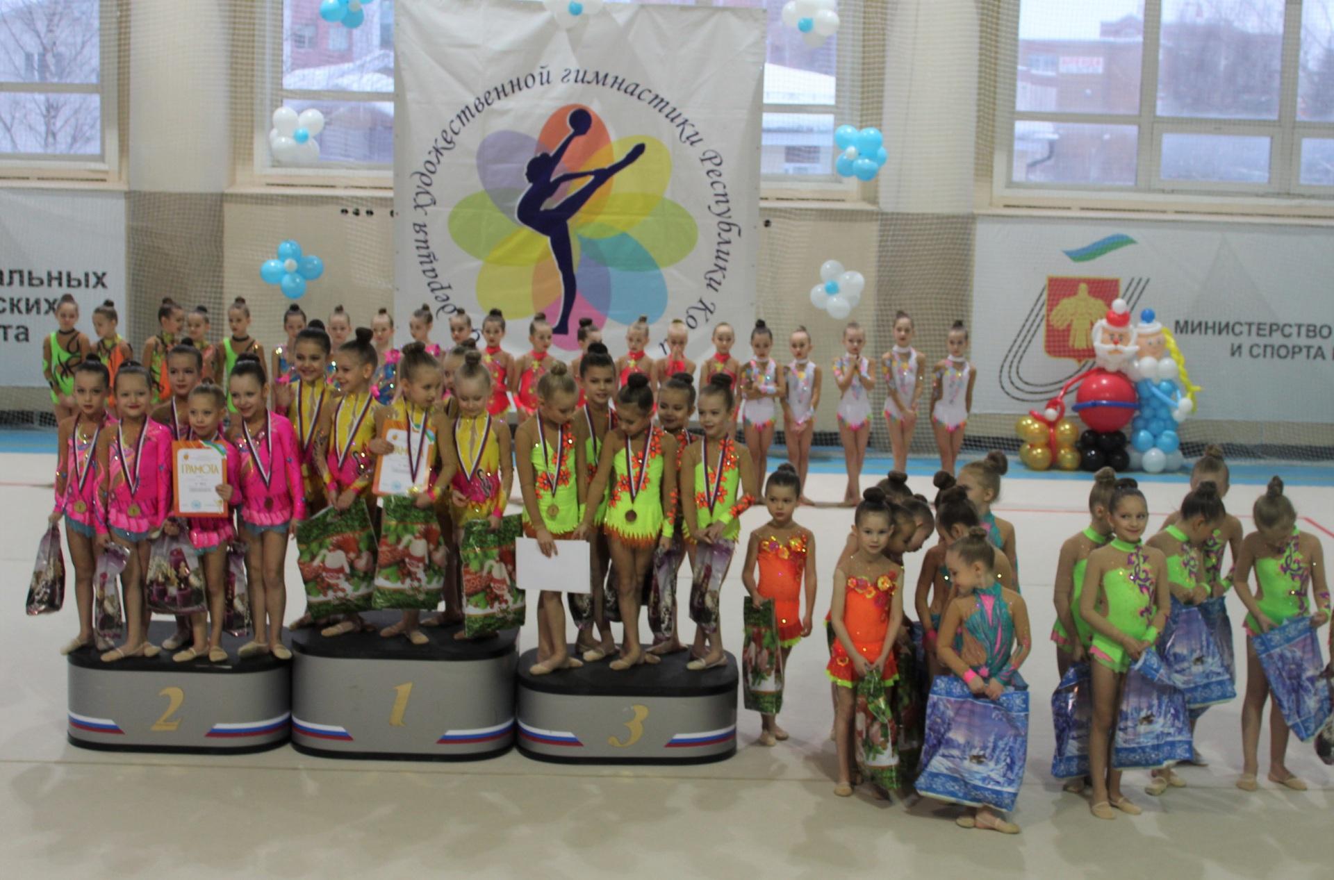 В Сыктывкаре определили сильнейших гимнасток республики