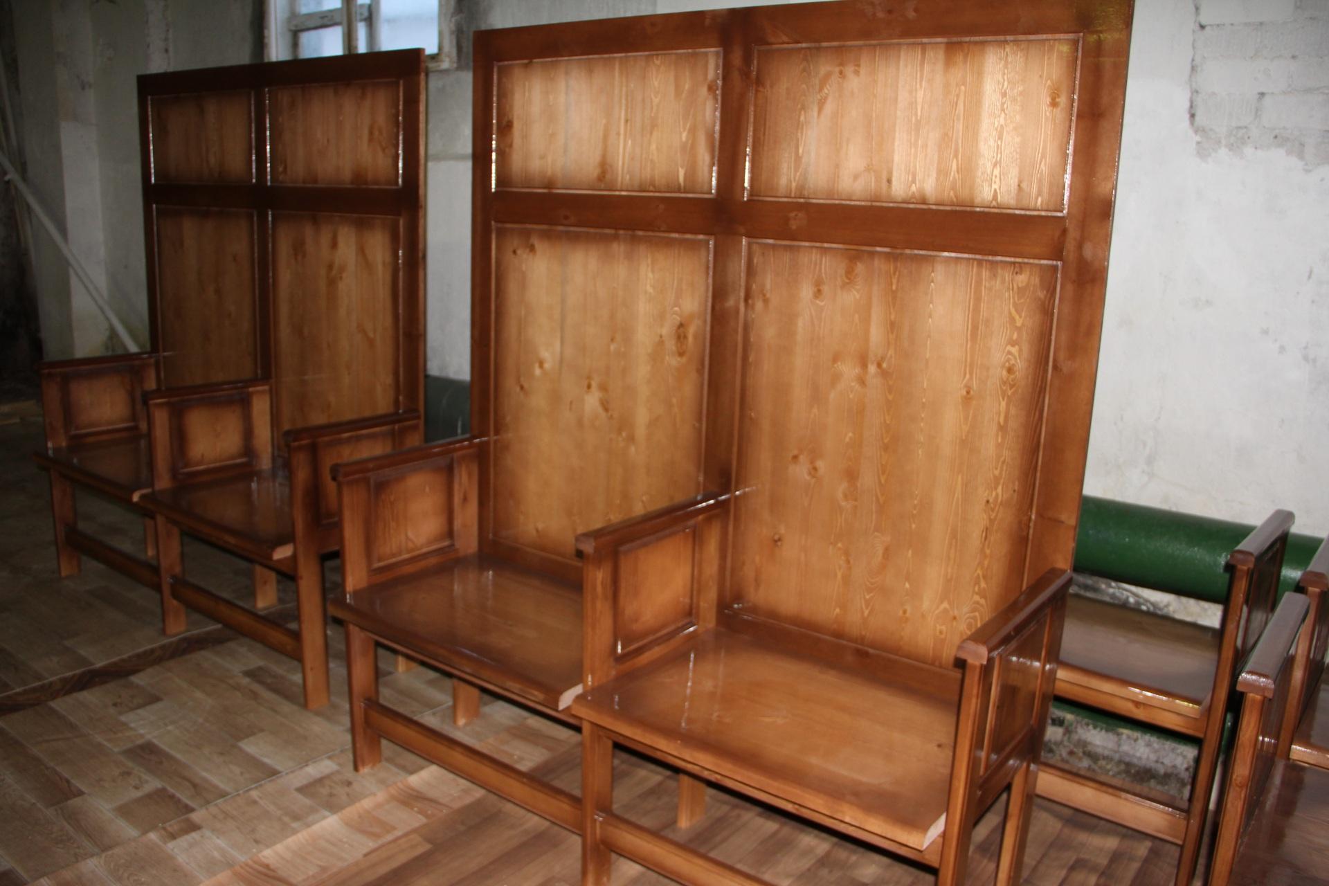 В Коми осужденные сыктывкарской колонии изготовили для бань Сыктывкара