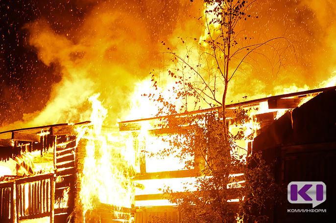 В Сысольском и Усть-Вымском районах на пожаре погибли пенсионеры