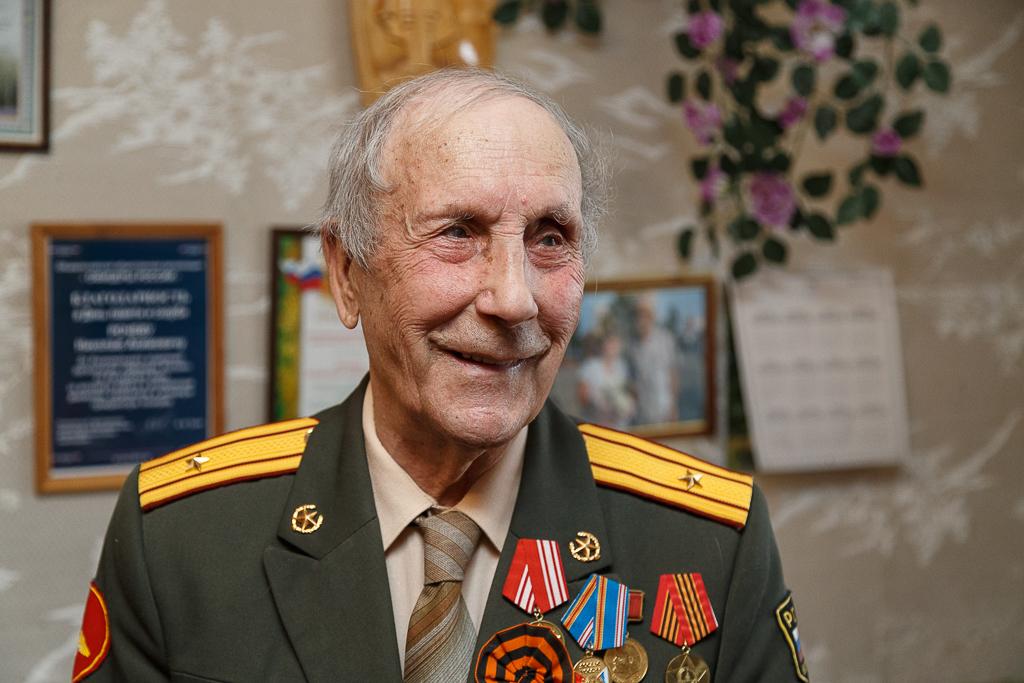 Владимир Путин поздравил с юбилеем участника Великой Отечественной войны из Коми Николая Рочева
