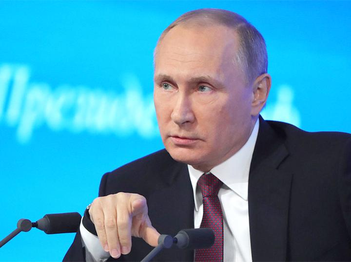 За месяц россиянам больше всего запомнилась пресс-конференция Путина и вывод войск из Сирии