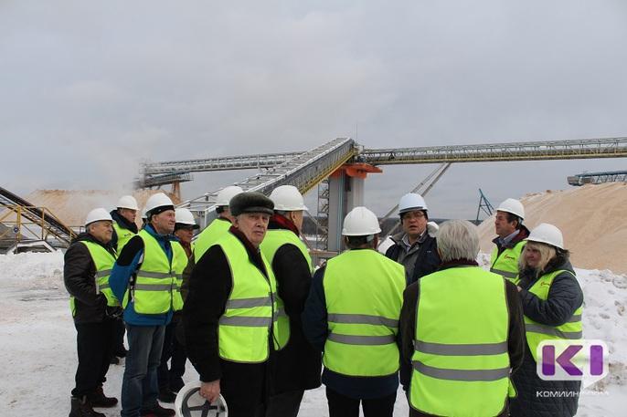 Первые строители Сыктывкарского ЛПК увидели, как вырос